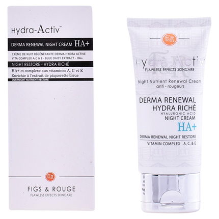 Figs & Rouge - HYDRA-ACTIV derma renewal night cream HA+ 50ml